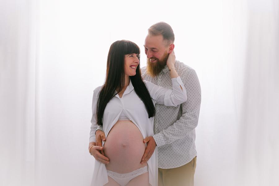 Reportaje fotos de embarazo